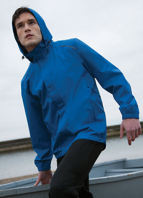 Men's Valet Waterproof Reflective Light Weight Rain Jacket
