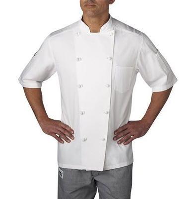 Master Chef 100% Cotton Short Sleeve Chef Coat