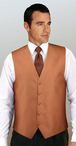 Men's Majestic Woven Jacquard Vest (Discontinued may NOT be returned or exchanged)