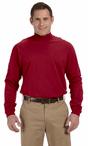 Unisex Security Mock Crew Turtleneck Shirt