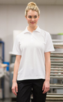 Ladies Snap Front Polyester Restaurant Polo
