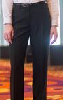 Ladies Casino Flat Front No Pocket Pant