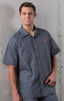 Men's Extreme Housekeeping Zip Front Shirt