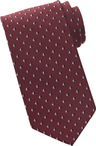 Men's Hotel Front Desk Pyramid Tie