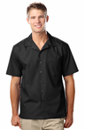 Men's SuperBlend Waiter Solid Color Camp Shirt