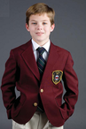 Boy's Polyester Blazer (Crest Patch NOT Included)