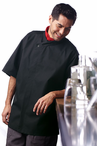 Calypso Short Sleeve Moisture Management Chef Coat