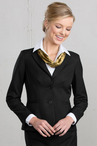 Ladies Extreme Washable Hotel Single Breasted Suit Coat (Available in Talls)