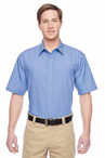 Men's Snap Button Stain Release Server Shirt