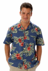 Unisex Server Floral Camp Shirt