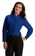 Ladies Casino Stand-Up Mandarin Collar Shirt