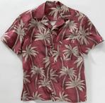 Unisex Restaurant Palm Camp Shirt