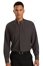 Men's Mandarin Collar Bistro Server Shirt (Discontinued NOT Returnable)