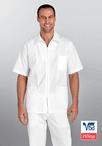 Men's 3 Pocket 30 Inch Zip Front Shirt