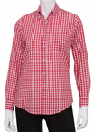 Ladies Server Gingham Blouse