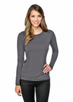 Ladies Stretch Long Sleeve Cocktail Server Shirt