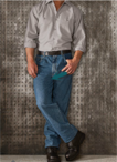 Men's Industrial Relaxed Fitted Jean