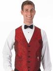 Men's Banquet Paisley Vest