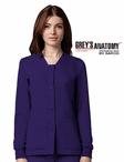 Junior Grey's Anatomy&#0153 4-Pocket Sporty Button-Front Warm-Up Jacket