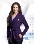 Ladies Front Desk Robe Jacket (Discontinued may NOT be returned or exchanged)