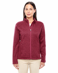 Ladies Resort Hotel Full Zip Sweater Fleece Jacket