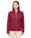 Ladies Resort Hotel Full Zip Sweater Fleece Jacket