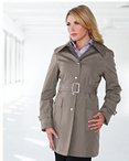 Ladies Valet Lined Trench Coat (Discontinued may NOT be returned or exchanged)