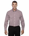 Men's Server Fine Gingham Check No-Iron Shirt
