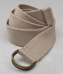 Hotel D-Ring Web Belt