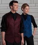 Men's Server Paisley Brocade Vest (Discontinued NOT Returnable)
