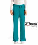 Junior Grey's Anatomy&#0153 5-Pocket Elastic Back Drawstring Pant