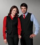 Men's Server Fly Front Fully Lined Vest