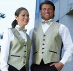 Ladies Marquis Woven Jacquard Vest