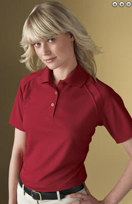 Ladies Country Club Edry Ottoman Polo Shirts