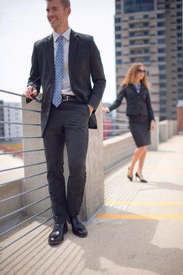 Men's High End Premier Hotel Washable Suit Collection