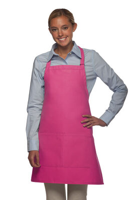 Center Divided Pocket Bib Apron