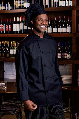 Moisture Management Cloth Knot Chef Coat