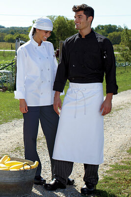 Poplin Light Weight Chef Coat