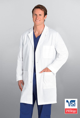 Men's 4 Pocket 38 Inch Lab Coat