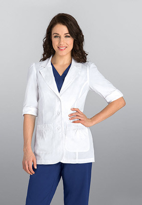 Women's No Pocket 28 Inch Lab Coat