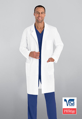 Men's 3 Pocket 40 Inch Lab Coat