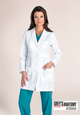 Women's Grey's Anatomy&#0153 3 Pocket 34 Inch Lab Coat