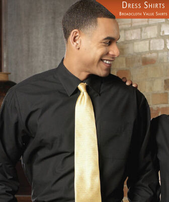 Men's Broadcloth Value Dress Shirt