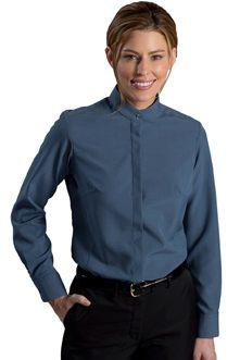380688441dd8 Ladies Extreme Restaurant Banded Collar Shirt � SharperUniforms.com