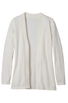 Ladies Open Cardigan Sweater – SharperUniforms.com