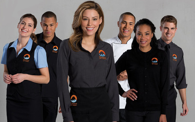 c7bc1be0dca Custom Restaurant Uniforms - Embroidered Clothing