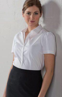 Women S Uniform Shirts Blouses Sharper Uniforms