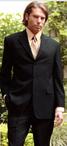 Men's Washable Hotel Two Button Suit Jacket