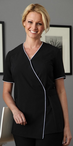 Ladies Sofia Wrap Spa Tunic
