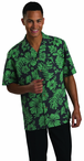 Server Tropical Unisex Hibiscus Camp Shirt
